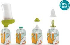 Babymoov Kiinde FOODII Starter Kit začetni komplet za hranjenje