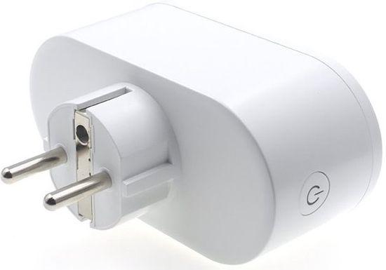 iQ-Tech SmartLife WS017, Wi-Fi 2× zásuvka, 16 A