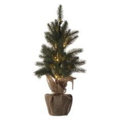 Emos LED božično drevo, 52 cm, 2x AA, notranja, toplo bela