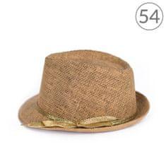 Art of Polo Trilby klobouk se zlatou stužkou 54cm