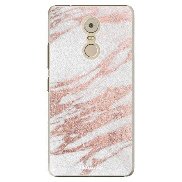 iSaprio Plastový kryt - RoseGold 10 pro Lenovo Vibe K6 Note