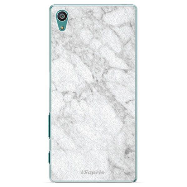 iSaprio Plastový kryt - SilverMarble 14 pro Sony Xperia Z5