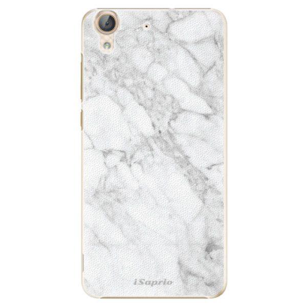 iSaprio Plastový kryt - SilverMarble 14 pro Huawei Y6 II