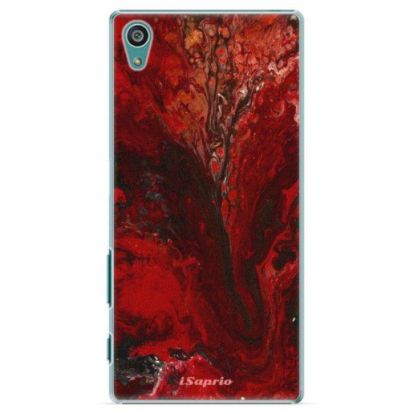 iSaprio Plastový kryt - RedMarble 17 pro Sony Xperia Z5