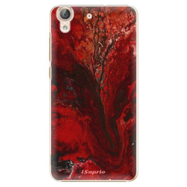 iSaprio Plastový kryt - RedMarble 17 pro Huawei Y6 II
