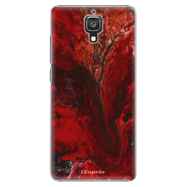 iSaprio Plastový kryt - RedMarble 17 pro Xiaomi Mi4