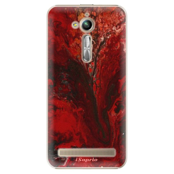 iSaprio Plastový kryt - RedMarble 17 pro ASUS ZenFone GO 5