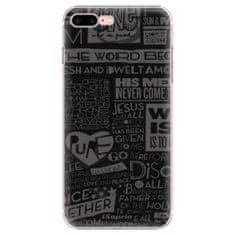iSaprio Plastový kryt - Text 01 pre Apple iPhone 7 Plus / 8 Plus