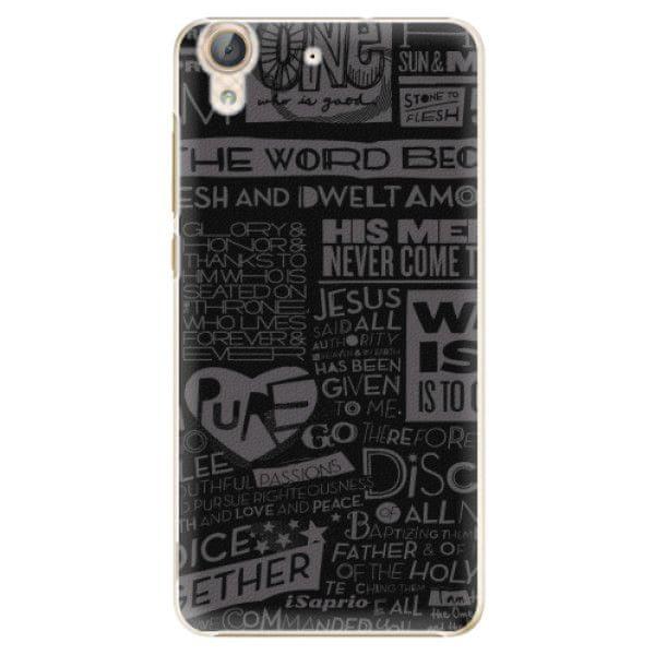 iSaprio Plastový kryt - Text 01 pro Huawei Y6 II