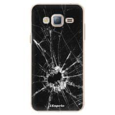 iSaprio Plastový kryt - Broken Glass 10 pro Samsung Galaxy J3 (2016)
