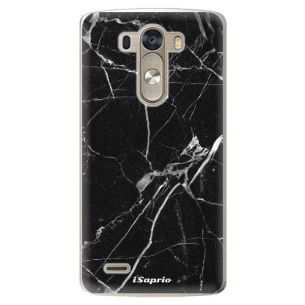 iSaprio Plastový kryt - Black Marble 18 pro LG G3