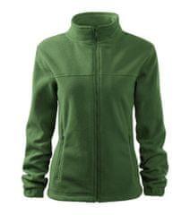 Malfini Dámská fleece bunda Malfini JACKET 504 lahvově zelená L