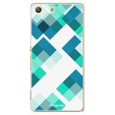 iSaprio Plastový kryt - Abstract Squares 11 pre Sony Xperia M5
