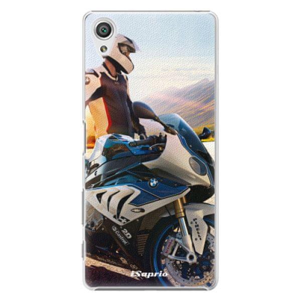 iSaprio Plastový kryt - Motorcycle 10 pro Sony Xperia X