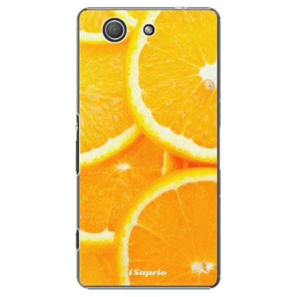 iSaprio Plastový kryt - Orange 10 pro Sony Xperia Z3 Compact