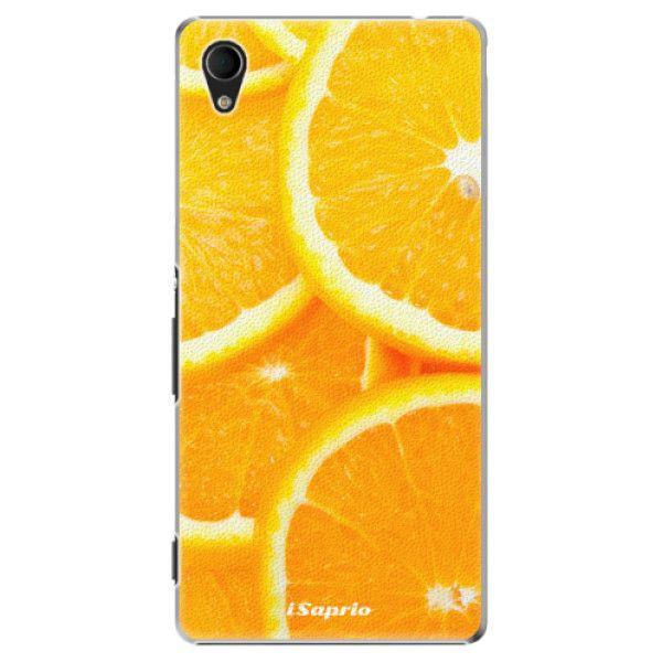 iSaprio Plastový kryt - Orange 10 pro Sony Xperia M4 Aqua