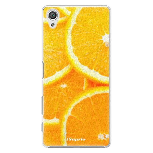 iSaprio Plastový kryt - Orange 10 pro Sony Xperia X
