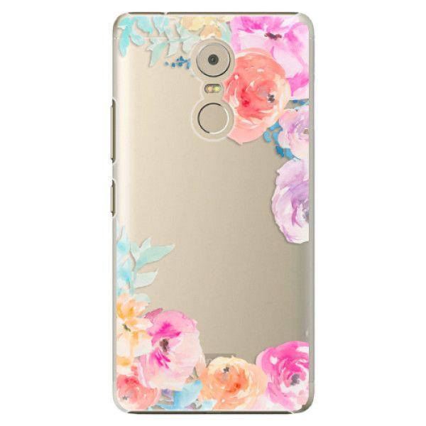 iSaprio Plastový kryt - Flower Brush pro Lenovo Vibe K6 Note
