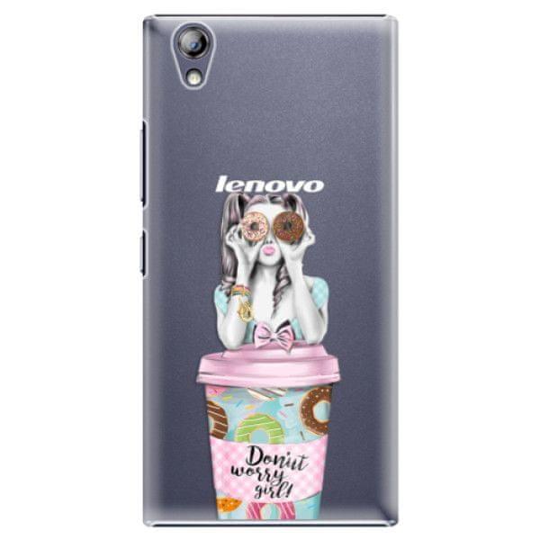 iSaprio Plastový kryt - Donut Worry pro Lenovo P70