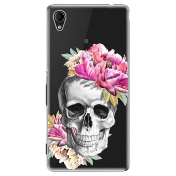 iSaprio Plastový kryt - Pretty Skull pro Sony Xperia M4 Aqua