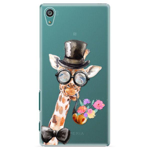 iSaprio Plastový kryt - Sir Giraffe pro Sony Xperia Z5