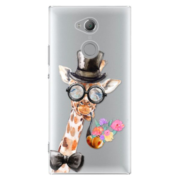 iSaprio Plastový kryt - Sir Giraffe pro Sony Xperia XA2 Ultra
