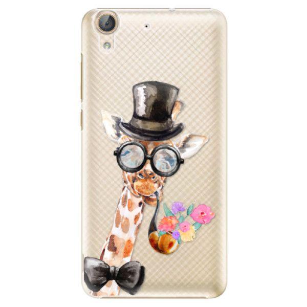 iSaprio Plastový kryt - Sir Giraffe pro Huawei Y6 II