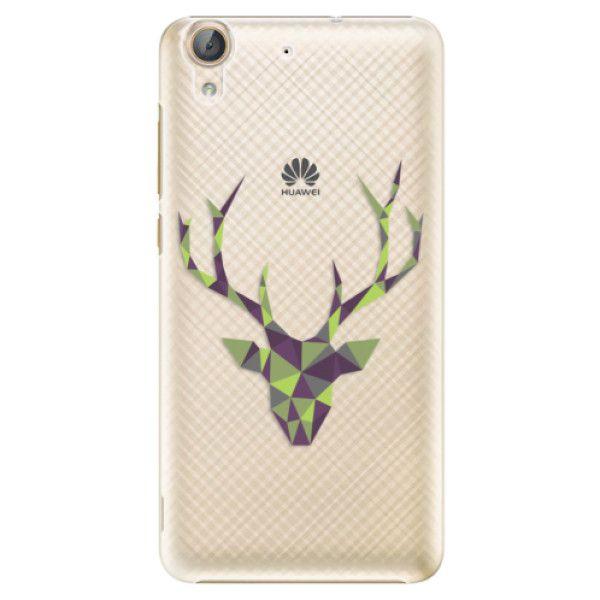 iSaprio Plastový kryt - Deer Green pro Huawei Y6 II