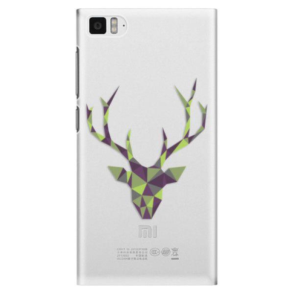 iSaprio Plastový kryt - Deer Green pro Xiaomi Mi3