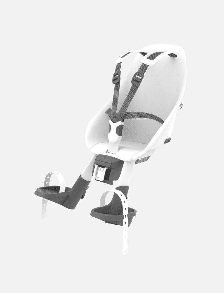 Urban Iki Přední sedačka na kolo - bílá
