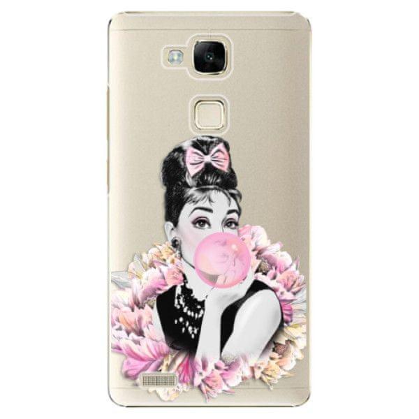 iSaprio Plastový kryt - Pink Bubble pro Huawei Ascend Mate 7