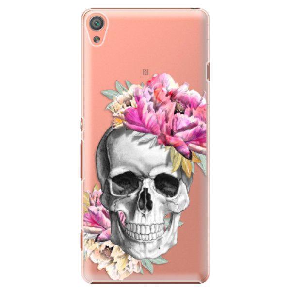 iSaprio Plastový kryt - Pretty Skull pro Sony Xperia XA