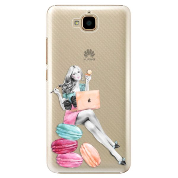 iSaprio Plastový kryt - Girl Boss pro Huawei Y6 Pro
