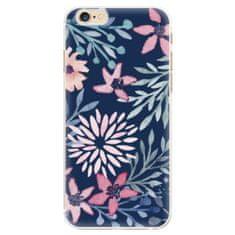 iSaprio Plastový kryt - Leaves on Blue pre Apple iPhone 6