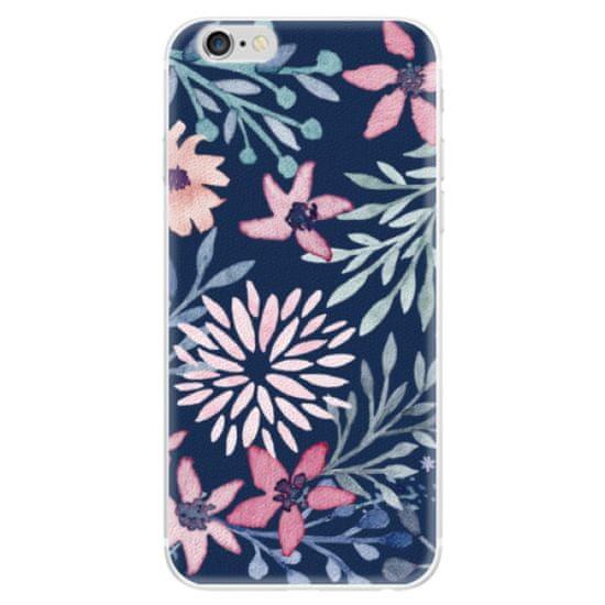 iSaprio Plastový kryt - Leaves on Blue pre Apple iPhone 12 Pro Max
