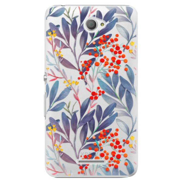 iSaprio Plastový kryt - Rowanberry pro Sony Xperia E4