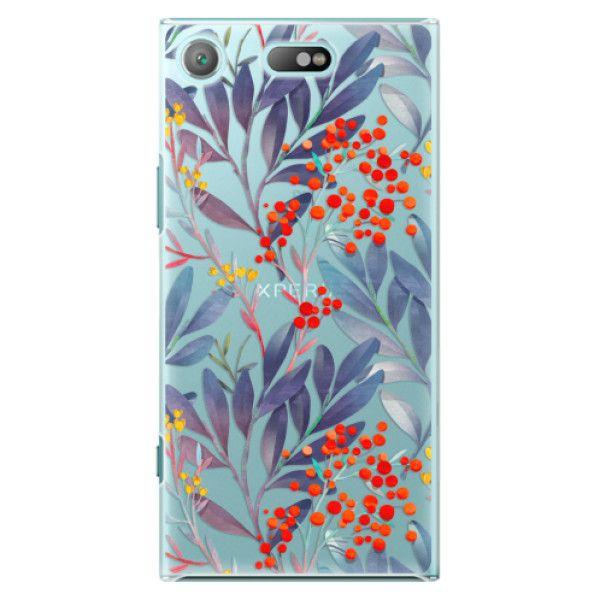 iSaprio Plastový kryt - Rowanberry pro Sony Xperia XZ1 Compact