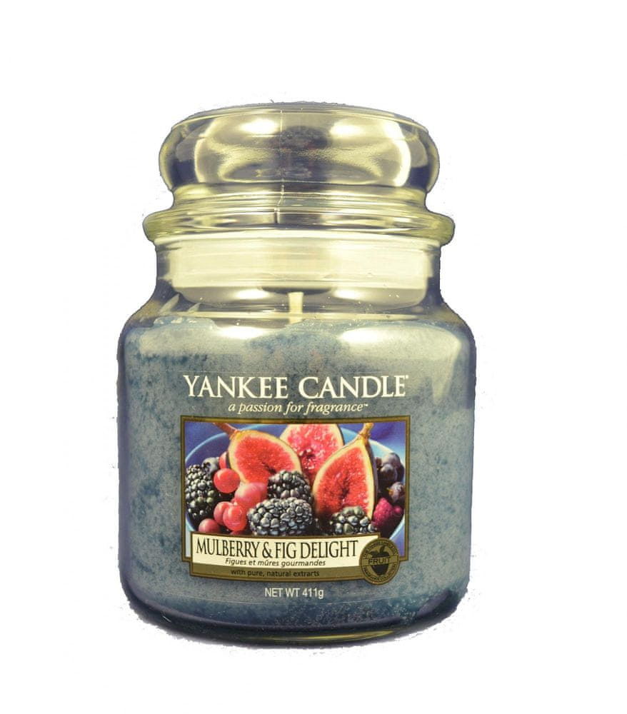 Yankee Candle Classic střední 411 g Mulberry & Fig Delight