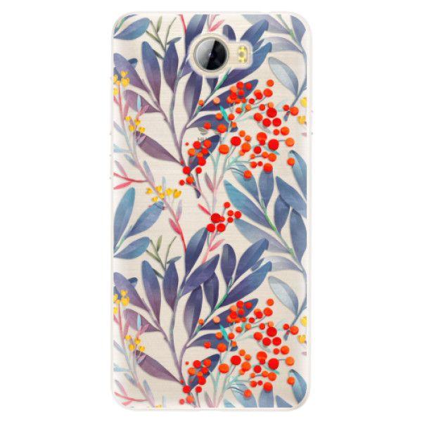 iSaprio Silikonové pouzdro - Rowanberry pro Huawei Y5 II