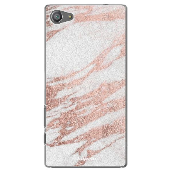 iSaprio Plastový kryt - RoseGold 10 pro Sony Xperia Z5 Compact