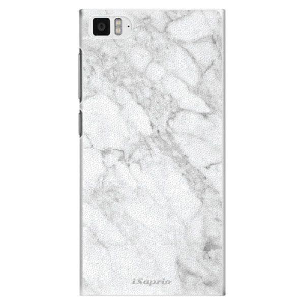 iSaprio Plastový kryt - SilverMarble 14 pro Xiaomi Mi3