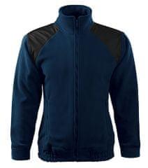 Malfini Unisex fleece bunda Malfini JACKET HI-Q 506 tmavě modrá L