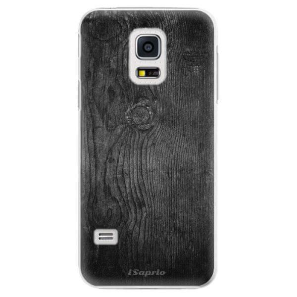 iSaprio Plastový kryt - Black Wood 13 pro Samsung Galaxy S5 Mini