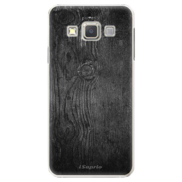 iSaprio Plastový kryt - Black Wood 13 pro Samsung Galaxy A7
