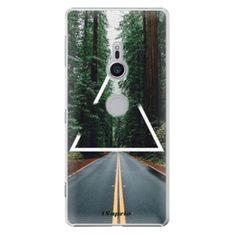 iSaprio Plastový kryt - Triangle 01 pre Sony Xperia XZ2