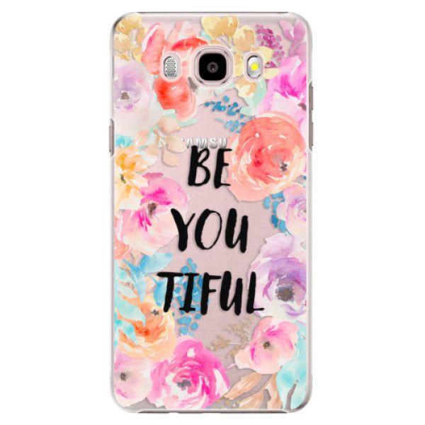 iSaprio Plastový kryt - BeYouTiful pro Samsung Galaxy J5 (2016)