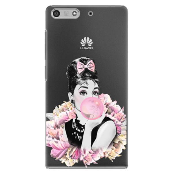 iSaprio Plastový kryt - Pink Bubble pro Huawei Ascend P7 Mini