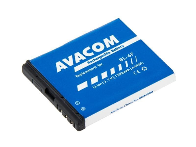 Avacom Baterie do mobilu Nokia N78 Li-Ion 3,7V 1200mAh (náhrada BL-6F)