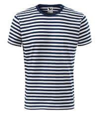 Malfini Unisexové tričko Malfini Sailor 803 tmavo modrá L
