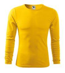 Malfini Pánske priliehavé tričko s dlhým rukávom Malfini Fit-T 119 žltá XL